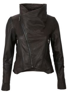 #GABBI LEATHER JACKET Selected femme