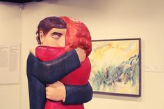 from @maritimelover  This piece by John Hooper entitled First Dance/Last Dance gave me all the feels #art #johnhooper #explorenb #maritimelove #allthefeels #nbmuseum