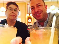Cousin Mark & myself at Astor Crowne Plaza Hotel, New Orleans July 2014