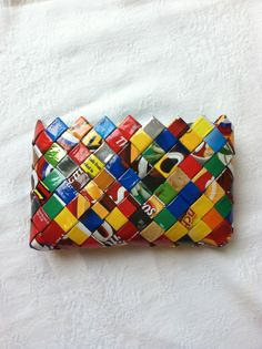 Candy Wrapper Coin Purse.
