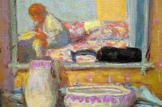 Pierre Bonnard, The Dressing Room, 1914, oil on canvas (detail).