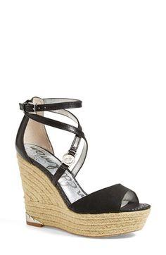 Sam Edelman 'Turner' Espadrille Wedge Sandal (Women) #Nordstrom