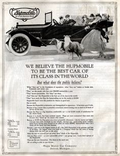 Hupmobile - The Saturday Evening Post - February 27, 1915