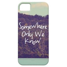 iPhone5 Case... Somewhere