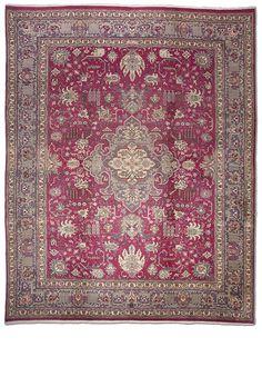 Tapete Persa Tabriz N 383 x 300 cm - Peça Única