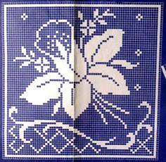 Tabletici Heklanje Sheme By Anita 25 Cross Stitch Tree, Cross Stitch Borders, Cross Stitch Flowers, Cross Stitch Patterns, Tapestry Crochet Patterns, Crochet Bedspread, Crochet Curtains, Crochet Numbers, Crochet Placemats