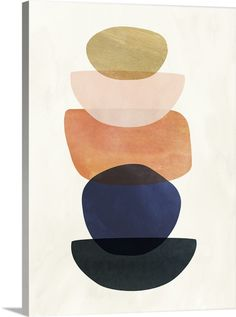 Victoria Borges Mod Pods Ii Canvas Art - x 48 Canvas Art, Canvas Prints, Art Prints, Big Canvas, Framed Prints, Abstract Shapes, Abstract Art, Abstract Portrait, Portrait Paintings