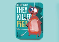 "Student: Butcher Kenny. Vlad Mikhailov explores the idea of if packaging told the truth with ""Butcher Kenny"". Inspired by the animated series of South Park, the entire design was built upon the unforgettable phrase ""Oh my God! They killed Kenny."""
