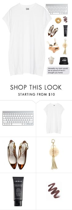 """WHEN I THINK OF YOU MY MIND GOES WILD"" by e-phemere ❤ liked on Polyvore featuring Oak, Enchanté, Chloé, Johnny Loves Rosie, LORAC and Mary Kay"