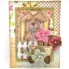 Perfect Pearls Bunny Card Tutorial