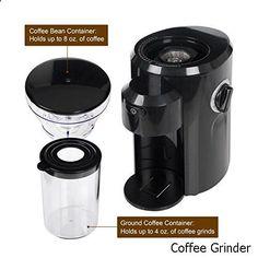 Coffee Grinder - Secura Automatic Conical Burr Coffee Grinder CBG-018