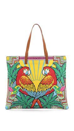Mara Hoffman Parrot Tote Bag