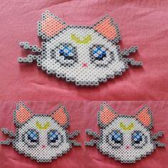 Artemis Sailor Moon perler beads by tryginal