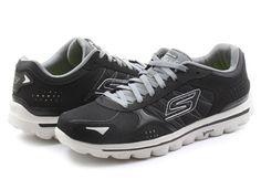 Skechers Topánky - Go Walk 2 - 53960-BKGY