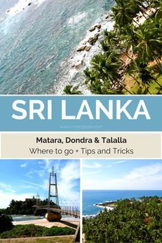 The South of Sri Lanka offers beautiful hidden beaches and wide views to the ocean, you will never forget. Matara, Dondra and Tallala are a must visit!