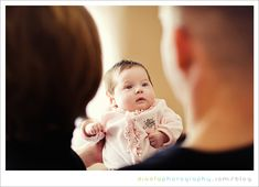 cute idea for baby pictures and would love one from behind babies head to see mom and dads huge grins