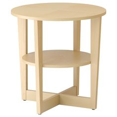 VEJMON Side table - birch veneer - IKEA .... I need this to exist in white.  Or turquoise.