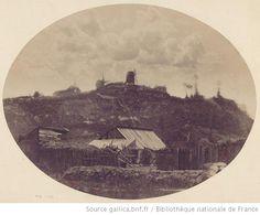 Vue de Montmartre / View of Montmartre, Paris, 1848-1850