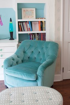 House of Turquoise: Annette Tatum | turquoise chair