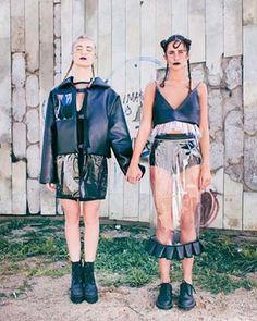 Transparent Skirt Skirt Pencil Skirt Clear Skirt by IngaSkripka