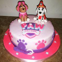 Sweets by Erin — Paw Patrol Cake #birthday #cake #birthdaycake...