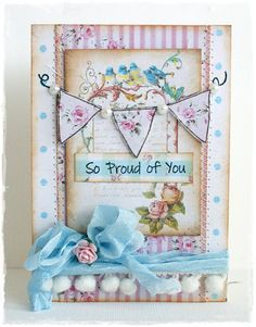 Created by Lenet Mos using the So Proud of you stamp set from www.papersweeties.com!