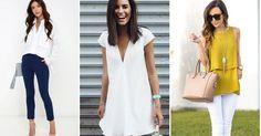 Inspiración para vestir en blanco, ¡ficha estas ideas!