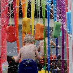 Make your kid a car wash!