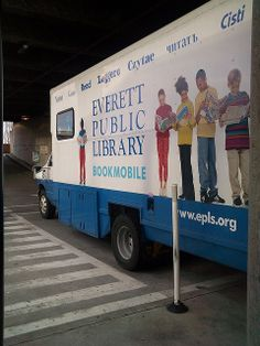 Bookmobile (angle view) @ the Everett Public Library in Everett WA | Flickr - Photo Sharing!