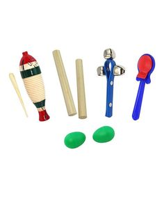 Take a look at this Rhythm Band Seven-Piece Instrument Set on zulily today!