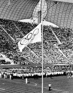 Munich 1972 2 Original Postcards. 1972 Olympic Games Munich Olympic Memorabilia