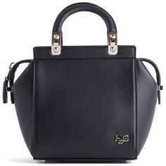 GIVENCHY Hdg Mini Top Hand ($1,533) ❤ liked on Polyvore featuring bags, handbags, blue bag, handle bag, givenchy bags, givenchy and givenchy handbags