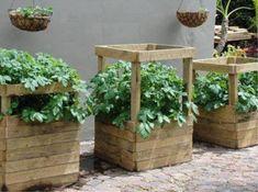 Comment fabriquer très facilement votre tour à pommes de terre à partir de matériaux de récupération ?
