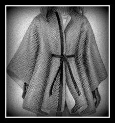 EVERYDAY SEW: ΧΕΙΜΕΡΙΝΗ ΚΑΠΑ - ΜΠΕΡΤΑ Fur Coat, Blazer, Sewing, Knitting, Sweaters, Blog, Jackets, Clothes, Cape