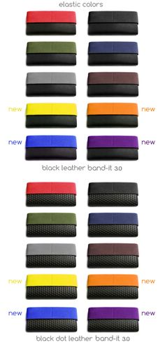 Band-it 3.0 - extra small minimal wallet with stealth pocket by A. Magpoc Designs — Kickstarter.  WOW!  Huge selection of colours available on Kickstarter now!