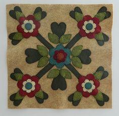 Outside Baltimore Wool Applique Pattern #2