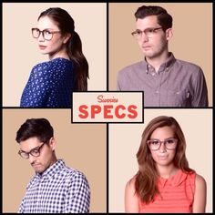Two of our favorite couples in #sunniesSPECS! Look out for new specs next week in any Sunnies Station near you. Top row: @jessdiazwilson + @mgastl Bottom row: @javiermarcalain + @aylagomez  #sunniestv | Sunnies Studios