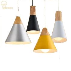 38.00$  Watch here - http://ali9ac.shopchina.info/go.php?t=32811263101 - Wood Vintage Pendant lights for home lighting 110-240V 30W E27 rope lampen retro hanglamp white lamp shade for loft from LUNICOO 38.00$ #SHOPPING