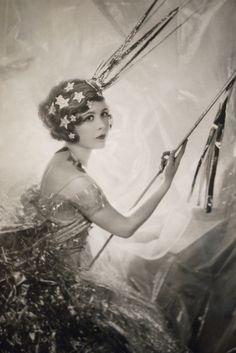 Nancy Beaton as Shooting Star - 1929 - Photo by Sir Cecil Beaton (English, 1904-1980) - @~ Watsonette