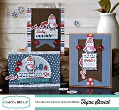 All Bundled Up Card Set created by Tegan Skwiat for Carta Bella.