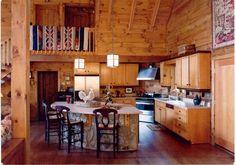 Tasker Log Home Plan - Log Homes of America