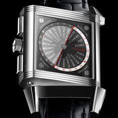 Fantastic: Jaeger Le Coultre - Squadra Reverso World Chronograph