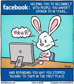 Facebook friends.