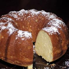 Grandma's Sour Cream Pound Cake : Yummy pound cake.  I have made several times and always goes quickly