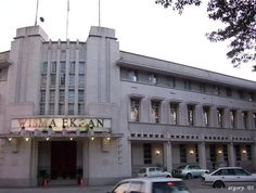 Art Deco Wisma Ekran - Office of former Anglo-Oriental Cpy - in Kuala Lumpur, Malaysia by Architect O. A. Coltman