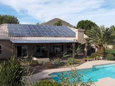 I hired Harmon Solar to install a solar solution for my home. No more electric bills. A great product for sunny Arizona Solar Energy Panels, Best Solar Panels, Solar Energy System, Solar Panel System, Panel Systems, Solar Shingles, Solar Solutions, Solar Roof Tiles, Solar Projects