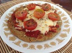 Receta de Pizza de quinoa para celíacos #RecetasGratis #RecetasdeCocina #RecetasFáciles #RecetasQuinoa #Quinoa
