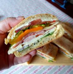 Picnic Sandwiches for Sandwich Weekfrom The English Kitchen