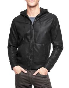 Hint hint.. the True Religion Black Coated Hoodie is on my wish list