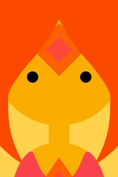 Flame princess adventure time iPhone wallpaper
